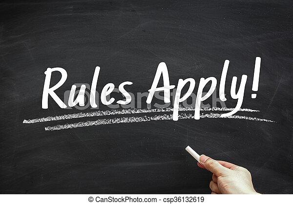 Rules Apply - csp36132619