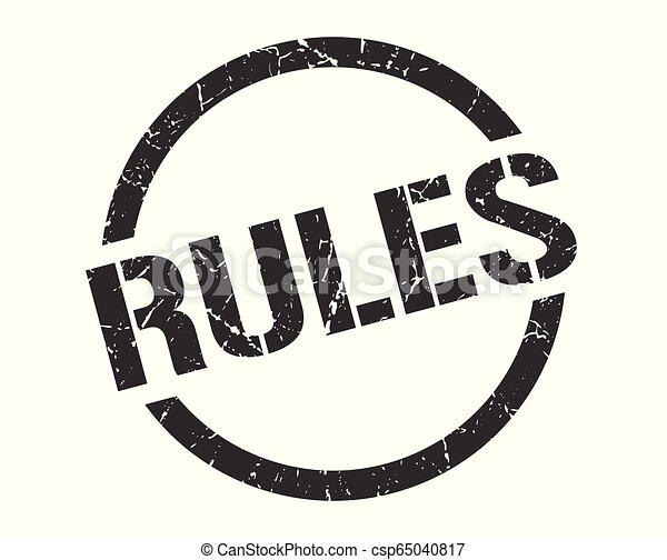 rules stamp - csp65040817