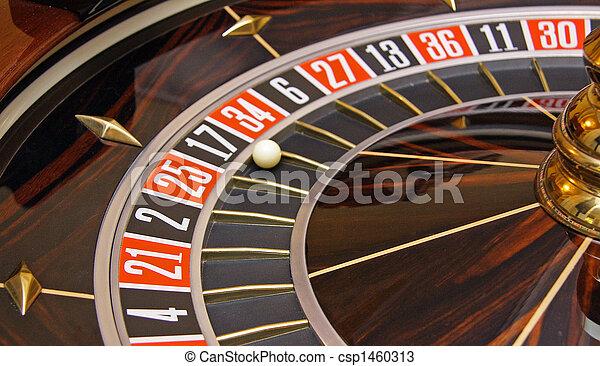 La ruleta del casino - csp1460313