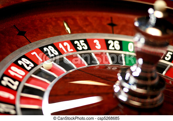La ruleta del casino - csp5268685