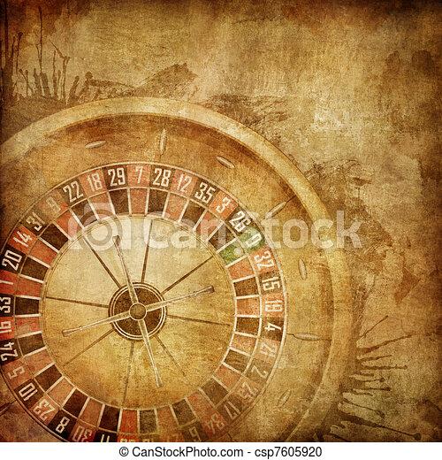 La ruleta del casino - csp7605920