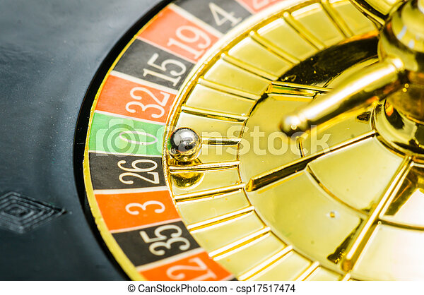 Ruleta de casino - csp17517474