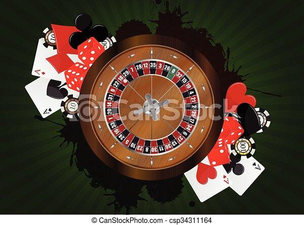 Roulette - csp34311164