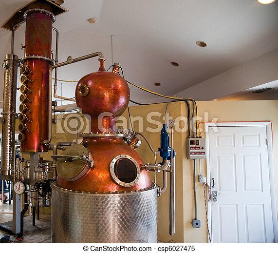 Rum distillery - csp6027475