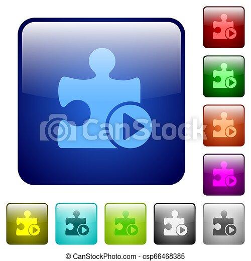 Run plugin color square buttons - csp66468385