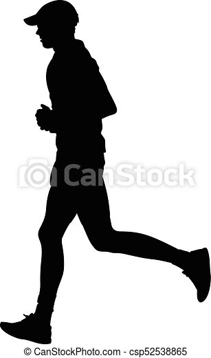runner silhouette run vector clip art vector search drawings and rh canstockphoto com woman runner silhouette vector female runner silhouette vector