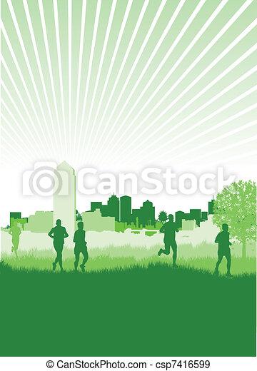 runners - csp7416599