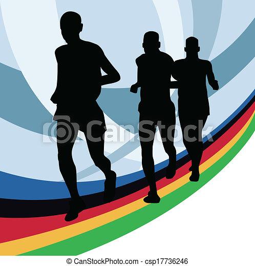 Runners - csp17736246