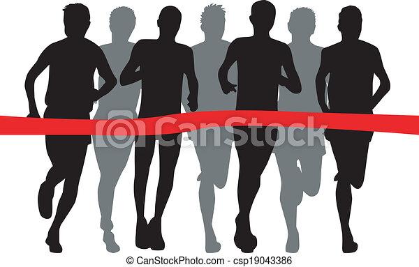 Runners - csp19043386