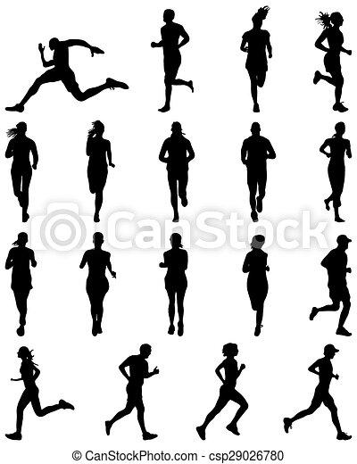 runners - csp29026780