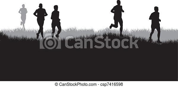 runners - csp7416598