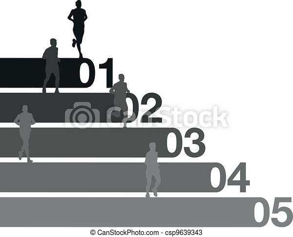 runners - csp9639343