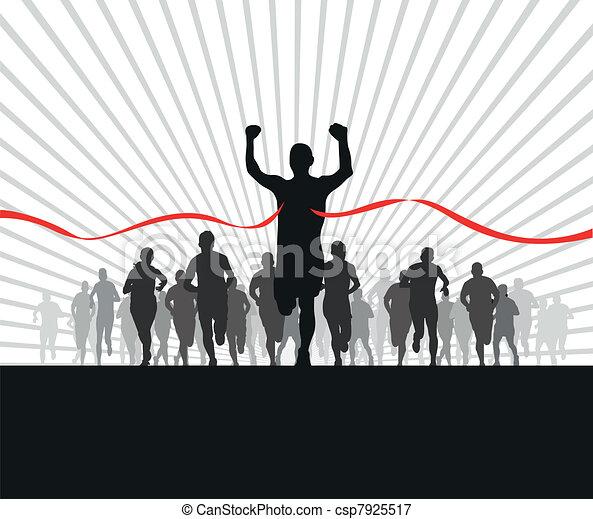 runners - csp7925517
