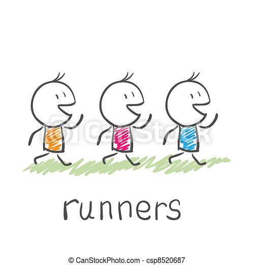 runners - csp8520687