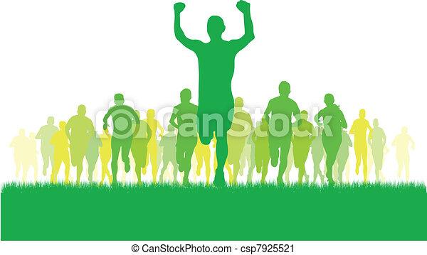 runners - csp7925521