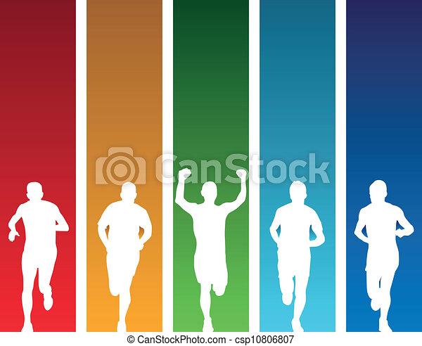 runners - csp10806807