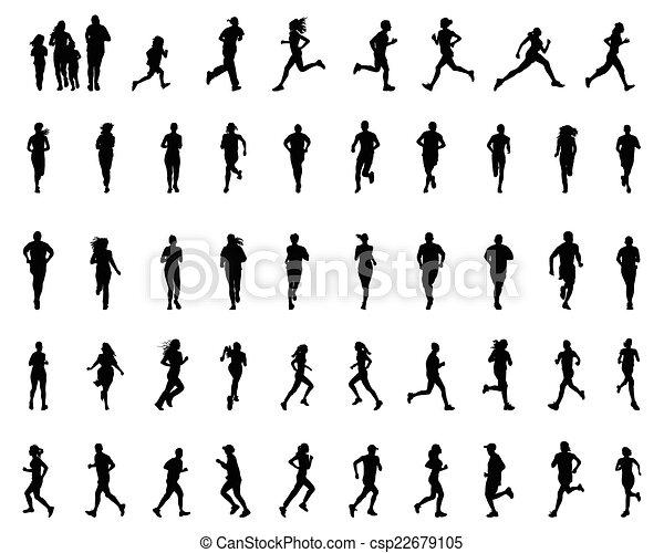 runners - csp22679105