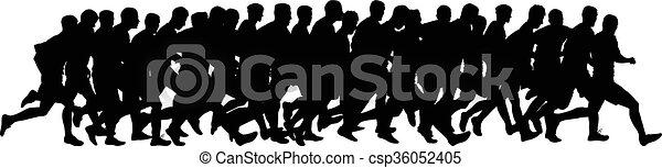 runners - csp36052405