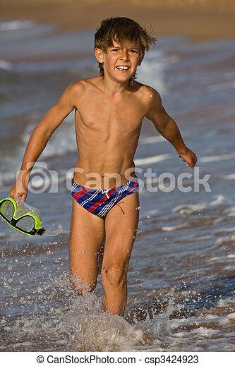 running boy - csp3424923