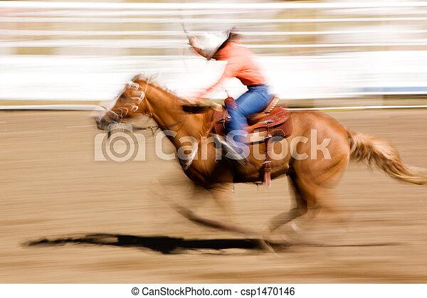 Running Horse - csp1470146