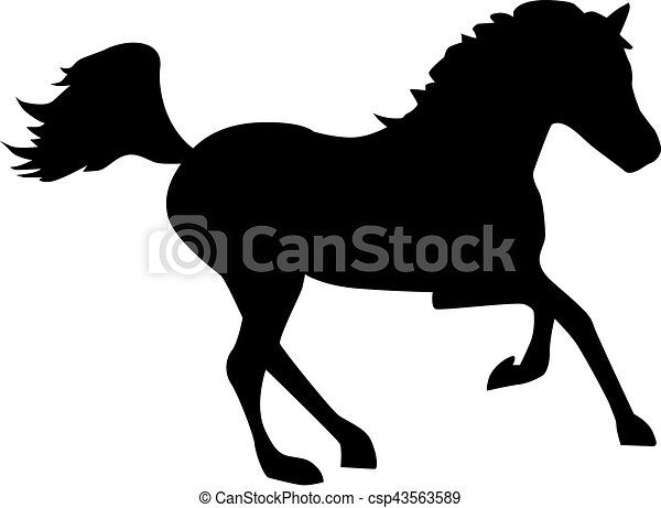 Cute Horse Portrait, Ink Painted Illustration Of Beautiful Purebred..  Royalty Free Cliparts, Vectors, And Stock Illustration. Image 74051841.