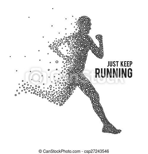 Running Shoe Line Drawing
