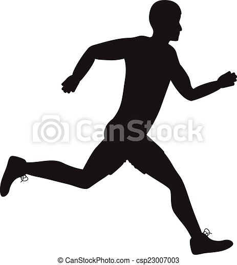 running man stock illustrations 27 652 running man clip art images rh canstockphoto com person running away clipart person running away clipart