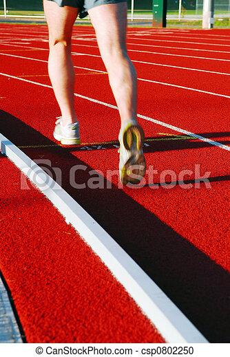 Running on racetrack - csp0802250