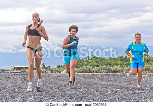 running sport women - csp12052538