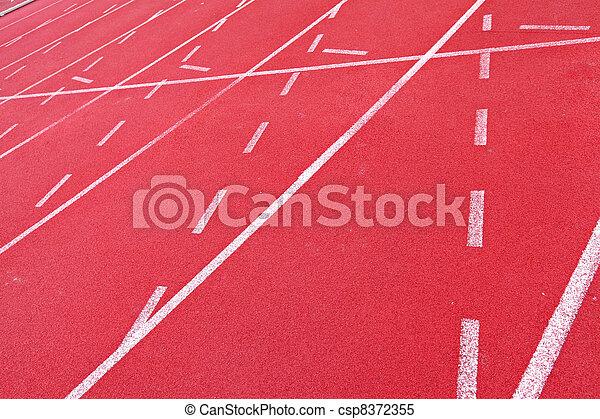 running track - csp8372355