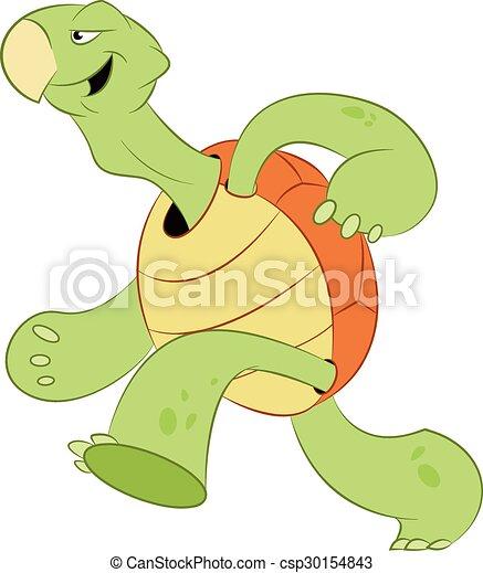 Running turtle - csp30154843