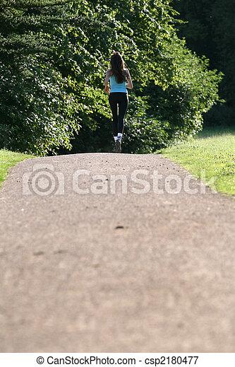 running woman - csp2180477
