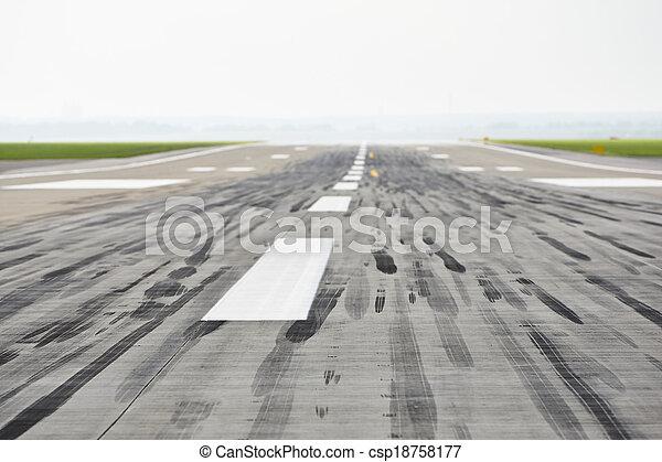 Runway - csp18758177