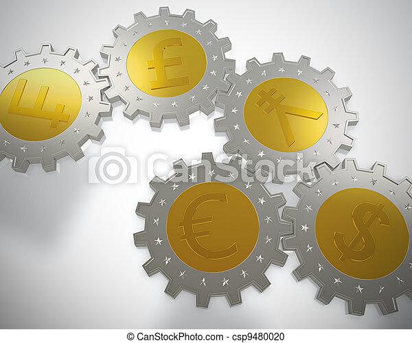 ruota dentata, monete - csp9480020