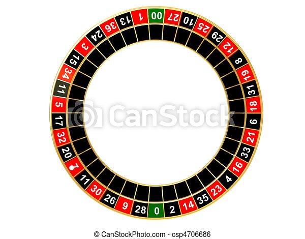 ruota roulette - csp4706686
