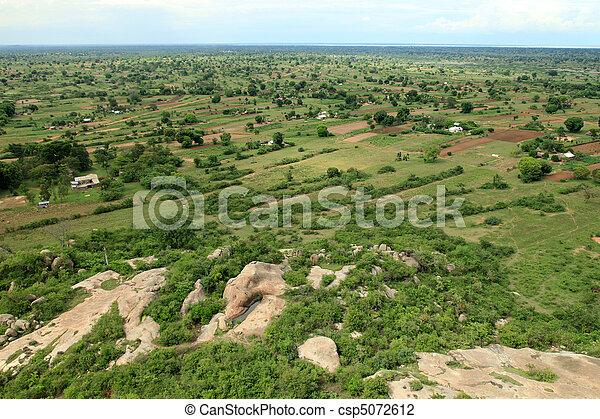 Rural Area - Uganda, Africa - csp5072612
