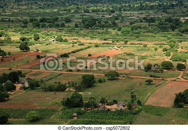 Rural Area - Uganda, Africa - csp5072802