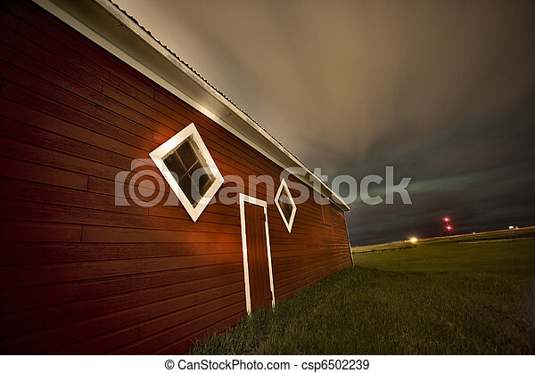 Rural Barn Night Photograhy - csp6502239