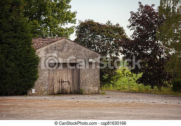 Rural building detail - csp81630166