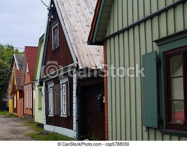 rural eastonian resort - csp5788030