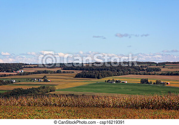 Rural Farmland - csp16219391