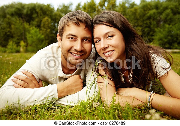 Rural happiness - csp10278489
