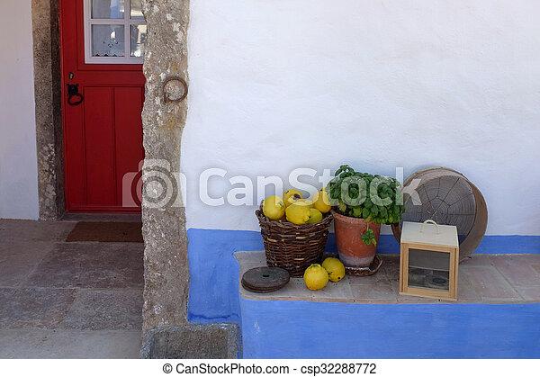 Rural House Detail - csp32288772