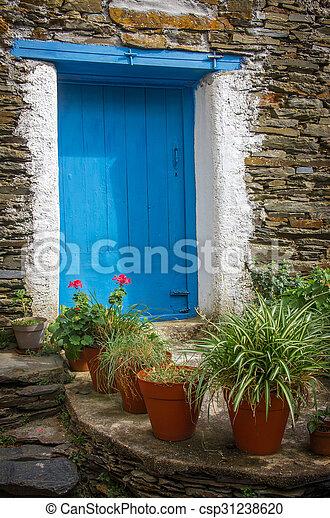 Rural House detail - csp31238620