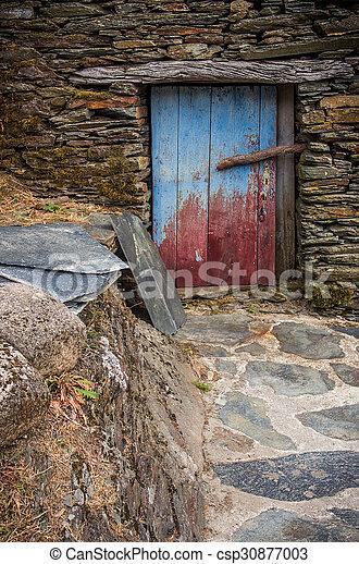 Rural House detail - csp30877003