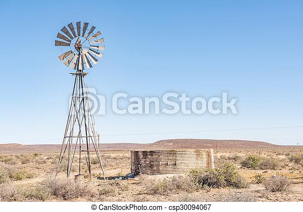 Rural Karoo scene - csp30094067