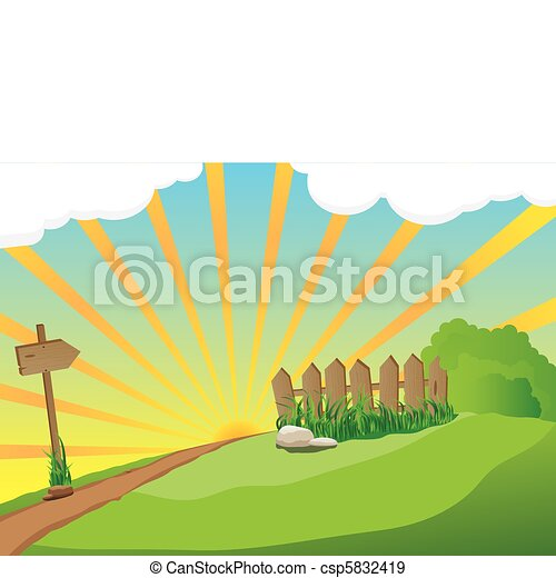 Rural Landscape - csp5832419