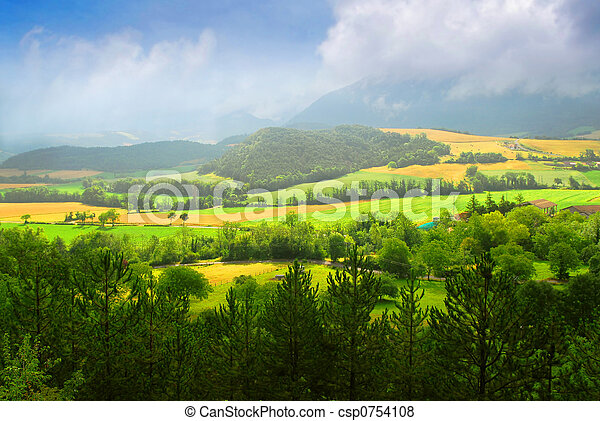 Rural landscape - csp0754108