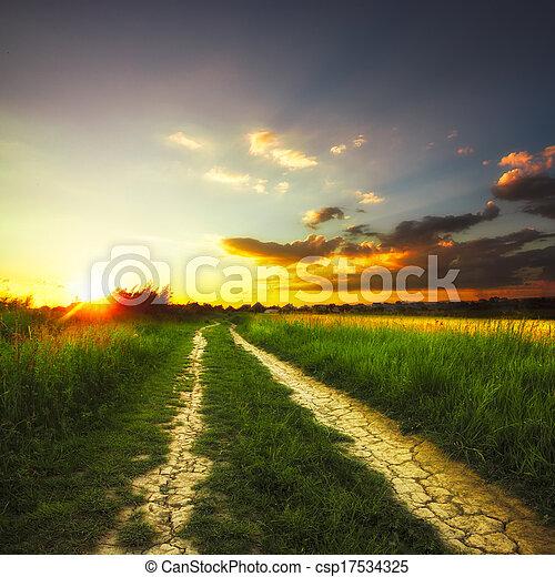 Rural landscape - csp17534325