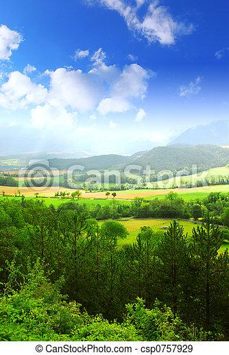 Rural landscape - csp0757929